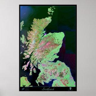 Scotland satellite poster