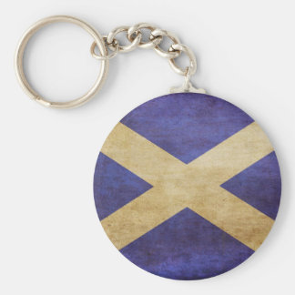 Scotland, Scotland, Scotland Basic Round Button Keychain