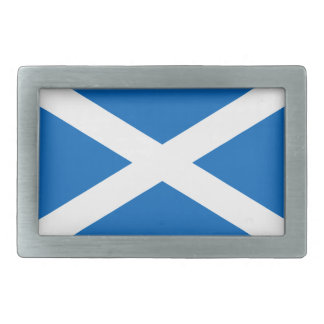 Scotland – Scottish Flag Rectangular Belt Buckles