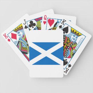 Scotland Scottish Flag Bicycle Playing Cards