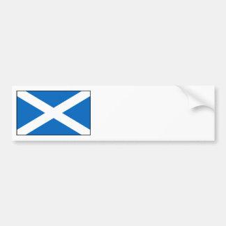 Scotland – Scottish Flag Bumper Sticker