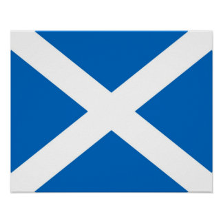 Scotland/Scottish Flag Poster
