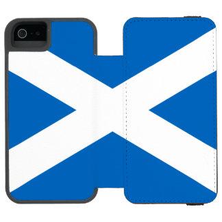 Scotland Scottish Flag St Andrews Cross iPhone SE/5/5s Wallet Case