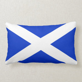 Scotland Scottish Flag Throw Pillow