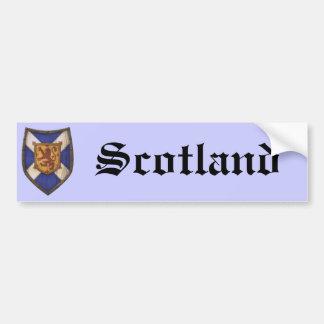 Scotland Shield Car Bumper Sticker