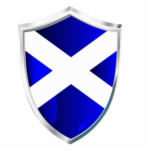 Scotland Shield Photo Cut Out Zazzle