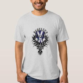 Scotland Skull Tattoo T-shirt