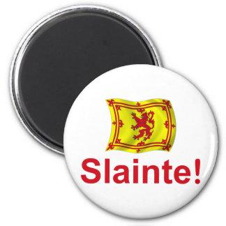 Scotland Slainte! 2 Inch Round Magnet