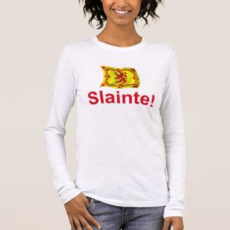 Scotland Slainte! Long Sleeve T-Shirt