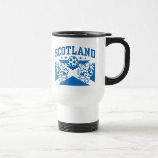 Scotland Soccer 15 Oz Stainless Steel Travel Mug