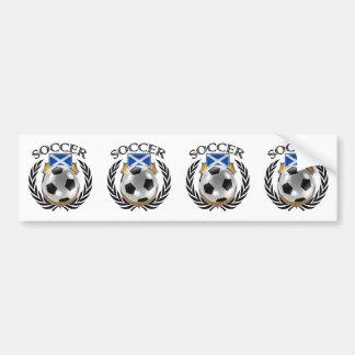 Scotland Soccer 2016 Fan Gear Bumper Sticker