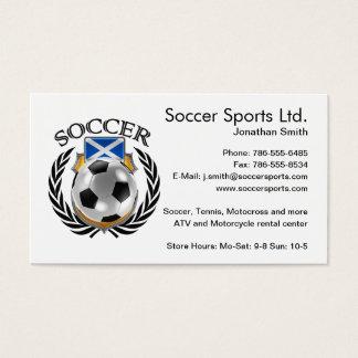 Scotland Soccer 2016 Fan Gear Business Card