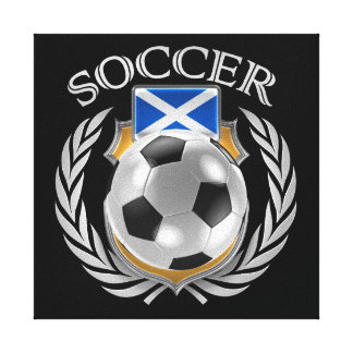 Scotland Soccer 2016 Fan Gear Canvas Print