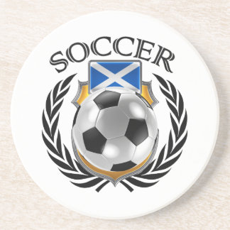 Scotland Soccer 2016 Fan Gear Coaster
