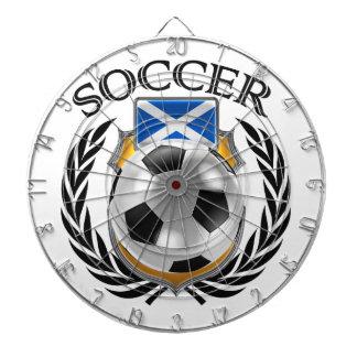 Scotland Soccer 2016 Fan Gear Dartboard With Darts