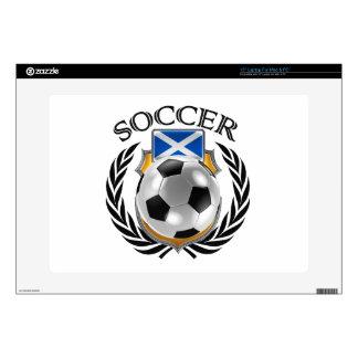 """Scotland Soccer 2016 Fan Gear Decals For 15"""" Laptops"""