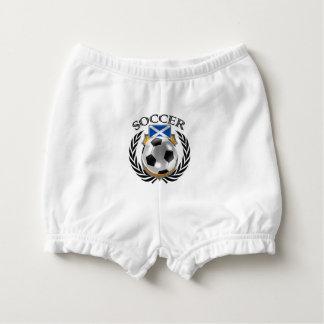 Scotland Soccer 2016 Fan Gear Diaper Cover