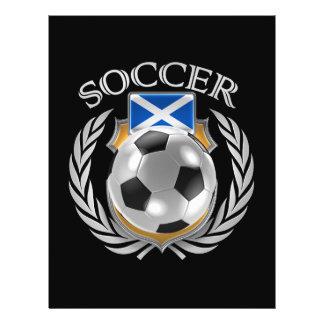 Scotland Soccer 2016 Fan Gear Flyer