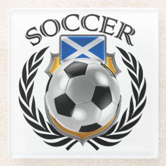 Scotland Soccer 2016 Fan Gear Glass Coaster