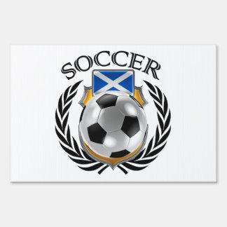 Scotland Soccer 2016 Fan Gear Lawn Sign