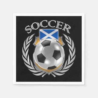 Scotland Soccer 2016 Fan Gear Paper Napkin