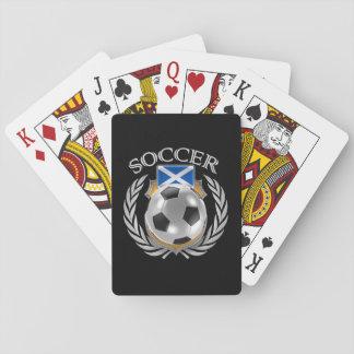 Scotland Soccer 2016 Fan Gear Playing Cards