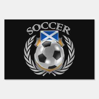 Scotland Soccer 2016 Fan Gear Sign