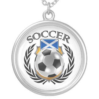 Scotland Soccer 2016 Fan Gear Silver Plated Necklace