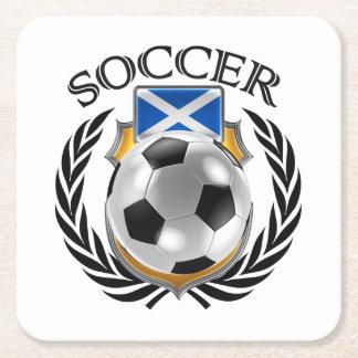 Scotland Soccer 2016 Fan Gear Square Paper Coaster