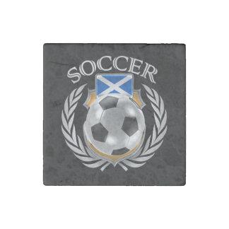 Scotland Soccer 2016 Fan Gear Stone Magnet