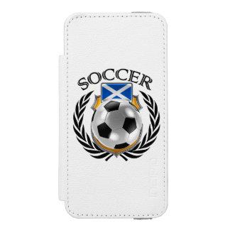 Scotland Soccer 2016 Fan Gear Wallet Case For iPhone SE/5/5s