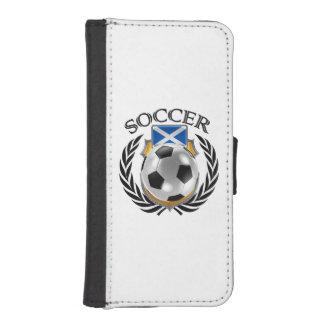 Scotland Soccer 2016 Fan Gear Wallet Phone Case For iPhone SE/5/5s