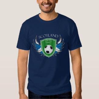 Scotland Soccer Ball Football Tees