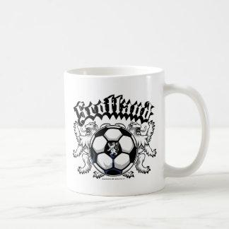 Scotland Soccer Classic White Coffee Mug