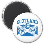 Scotland Soccer Fridge Magnets