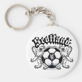Scotland Soccer Keychain