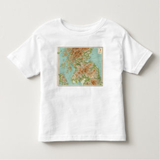Scotland southern section toddler t-shirt