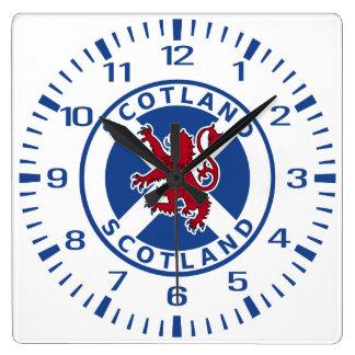 Scotland Square Wall Clock