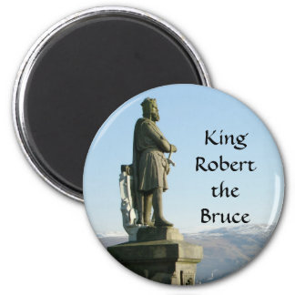 Scotland Stirling King Robert the Bruce 2 Inch Round Magnet