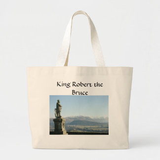 Scotland Stirling King Robert the Bruce Large Tote Bag