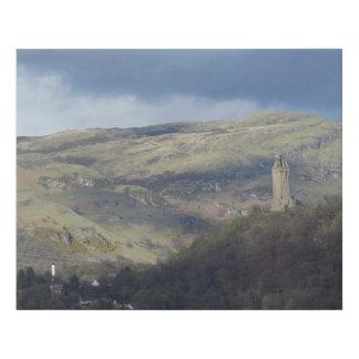 Scotland - Stirling (Wallace Monument) Faux Canvas Print