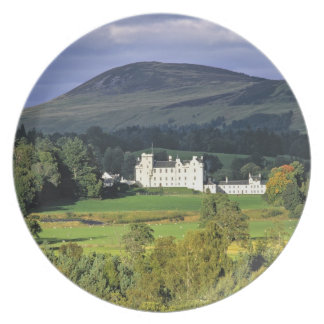 Scotland, Tayside, Blair Castle. In an emerald Plate