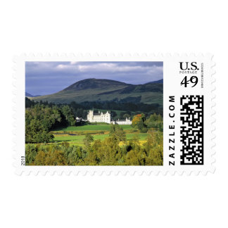Scotland, Tayside, Blair Castle. In an emerald Postage Stamp