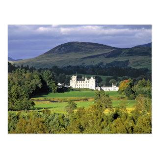 Scotland, Tayside, Blair Castle. In an emerald Postcard