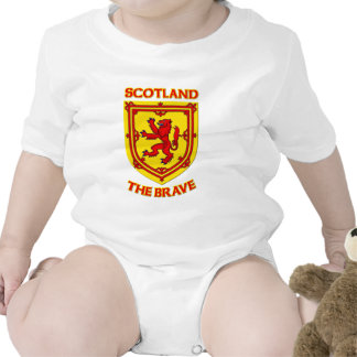 Scotland the Brave and Coat of Arms Bodysuit