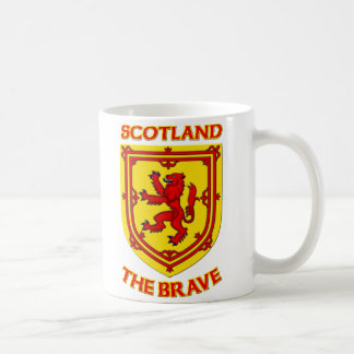 Scotland the Brave and Coat of Arms Mugs