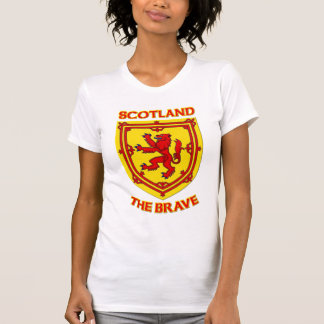Scotland the Brave and Coat of Arms T Shirt