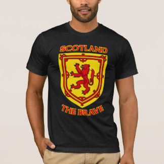 Scotland the Brave and Coat of Arms T-Shirt
