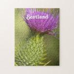 Scotland Thistle Jigsaw Puzzles