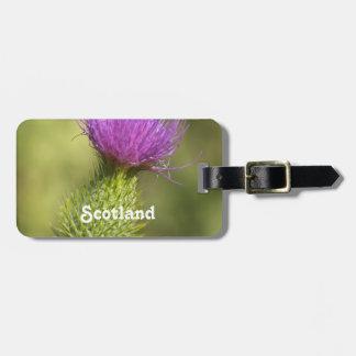 Scotland Thistle Bag Tags